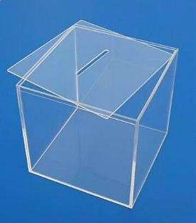 Losbox glasklar